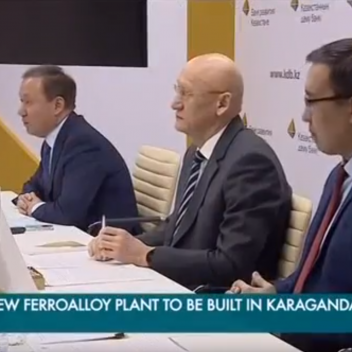 New Ferroalloy Plant to be built in Karaganda