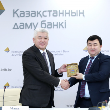 Press briefing on the occasion of the start of financing the construction of a plant for the production of methyl tert-butyl ether