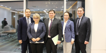 DBK and OECD discussed a joint action plan for the development of green financing